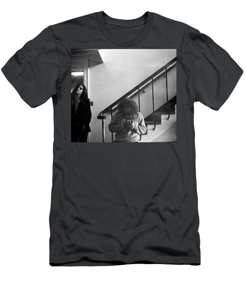 Self-portrait, With Woman, In Mirror, Cropped, 1972 Men's T-Shirt (Athletic Fit)