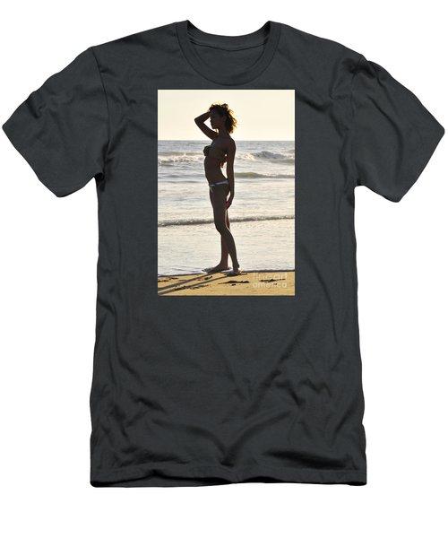 Self Reflecting Men's T-Shirt (Slim Fit) by Robert WK Clark