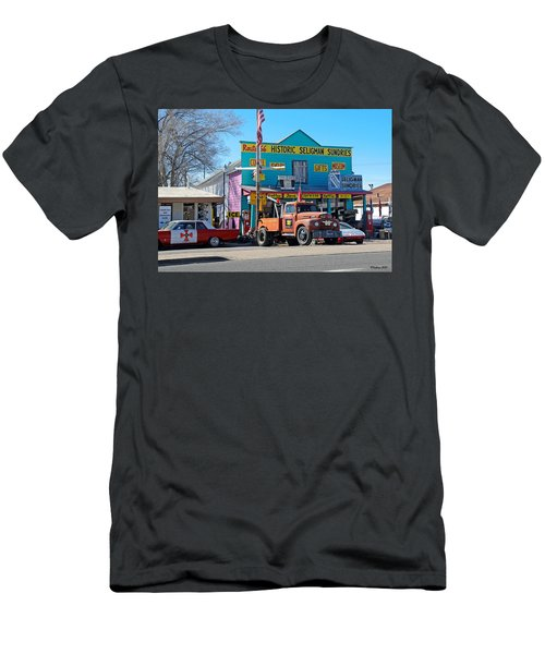 Seligman Sundries On Historic Route 66 Men's T-Shirt (Athletic Fit)