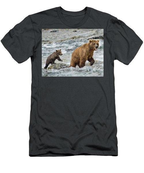 Sensing Danger Men's T-Shirt (Athletic Fit)
