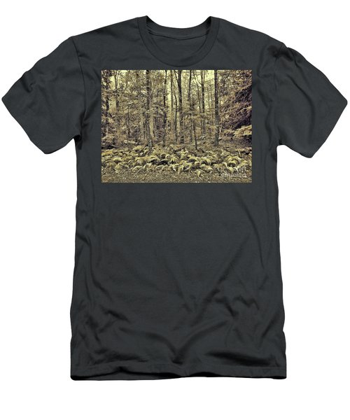 Sepia Landscape Men's T-Shirt (Athletic Fit)