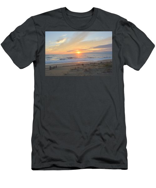 Men's T-Shirt (Athletic Fit) featuring the photograph September Sunrise  30 by Barbara Ann Bell