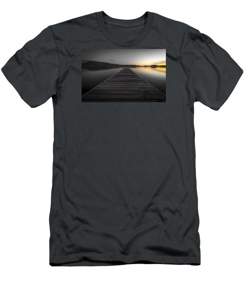 Serene Lake 2 Men's T-Shirt (Athletic Fit)