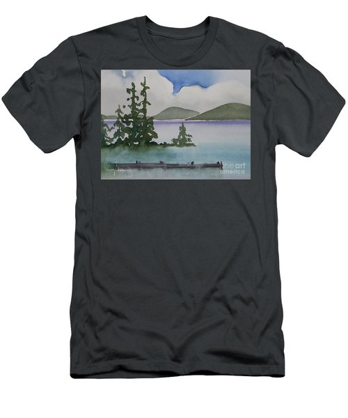 Serene Morning On Lake Superior Men's T-Shirt (Athletic Fit)