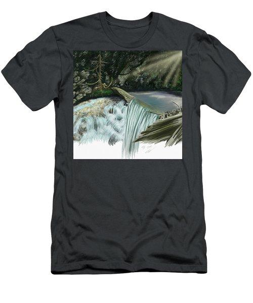 Serene Oasis Of Stagger Inn Men's T-Shirt (Athletic Fit)