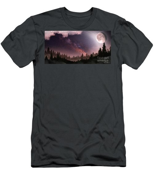 Men's T-Shirt (Slim Fit) featuring the digital art Serenity by Anthony Citro