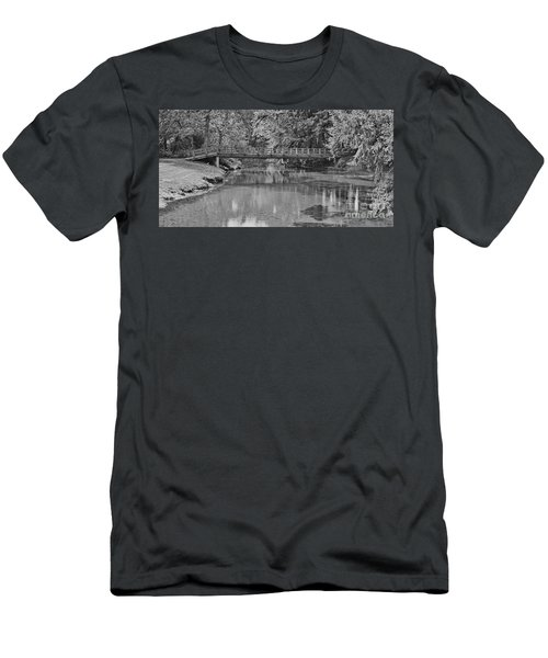 Serenity B And W Men's T-Shirt (Athletic Fit)