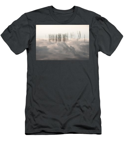Serenity Dwells Here Where Tranquil Water Flow Cloaked  In Hues Of Love Men's T-Shirt (Athletic Fit)