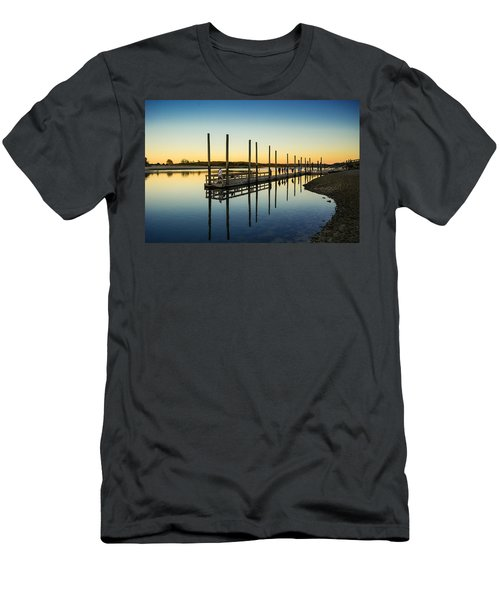 Serenity Sunset Kings Park New York Men's T-Shirt (Athletic Fit)