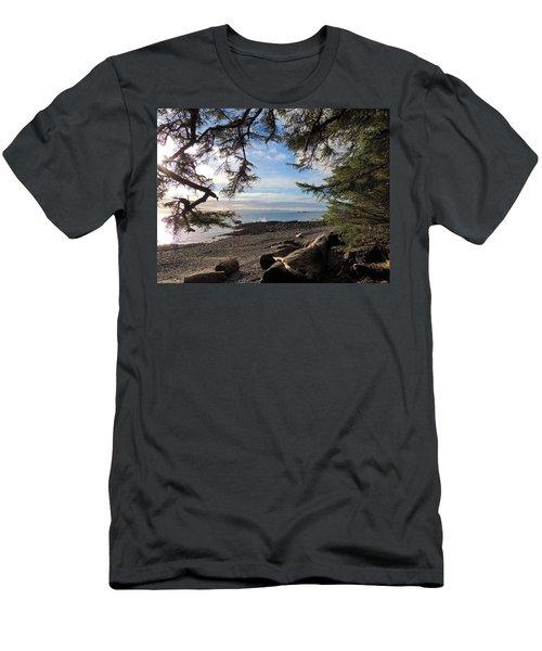 Serenity Surroundings  Men's T-Shirt (Slim Fit) by Karen Horn