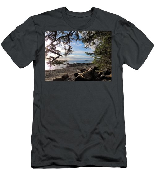 Serenity Surroundings  Men's T-Shirt (Athletic Fit)