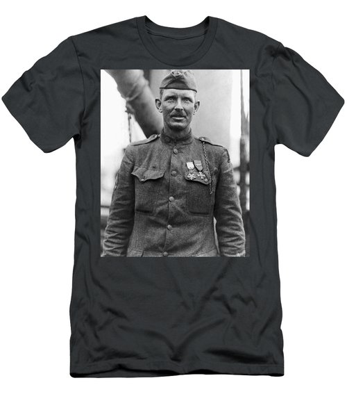 Sergeant York - World War I Portrait Men's T-Shirt (Athletic Fit)
