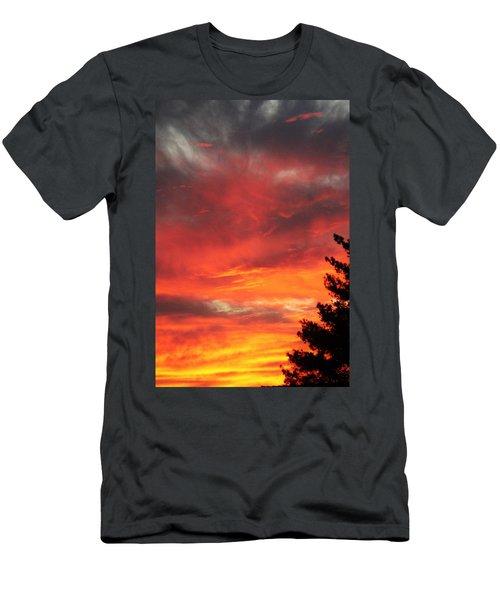 Desert Sunburst Men's T-Shirt (Athletic Fit)