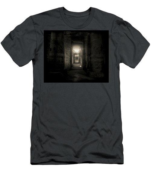 Seti I Temple Abydos Men's T-Shirt (Athletic Fit)