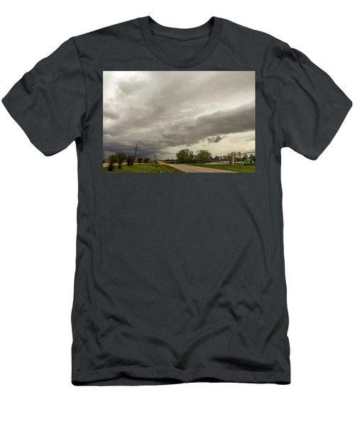 Severe Nebraska Weather 013 Men's T-Shirt (Athletic Fit)