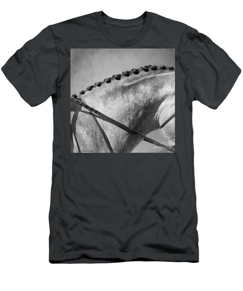 Shades Of Grey Fine Art Horse Photography Men's T-Shirt (Athletic Fit)
