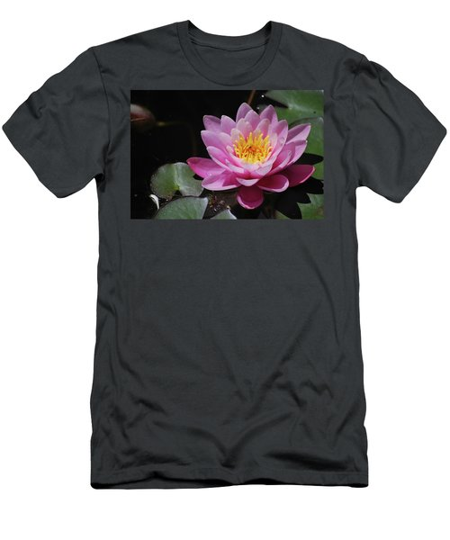 Men's T-Shirt (Athletic Fit) featuring the photograph Shades Of Pink by Amee Cave