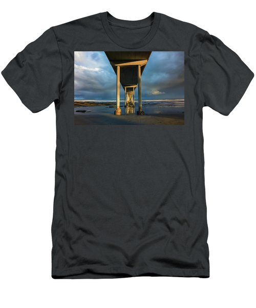 Shadow And Light Men's T-Shirt (Slim Fit)