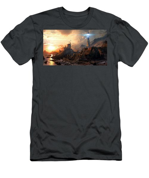 Shadow Realms Men's T-Shirt (Athletic Fit)