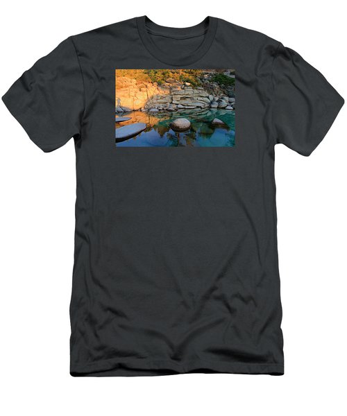 Shadow Selfie Men's T-Shirt (Athletic Fit)