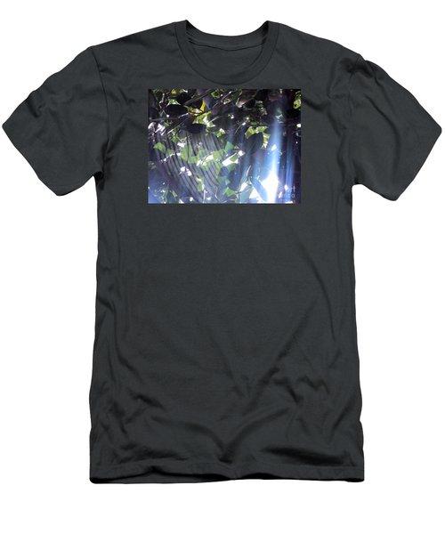 Men's T-Shirt (Slim Fit) featuring the photograph Shadow Threads by Megan Dirsa-DuBois