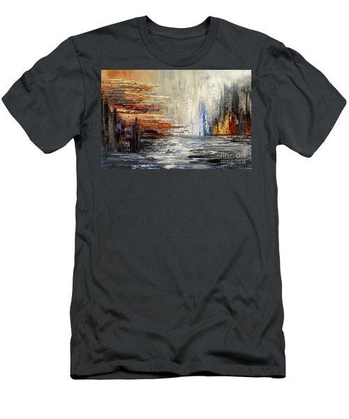 Shadowlands Men's T-Shirt (Slim Fit) by Tatiana Iliina