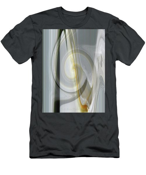 Shadows And Light - Iris Abstract - Manipulated Photography Men's T-Shirt (Athletic Fit)
