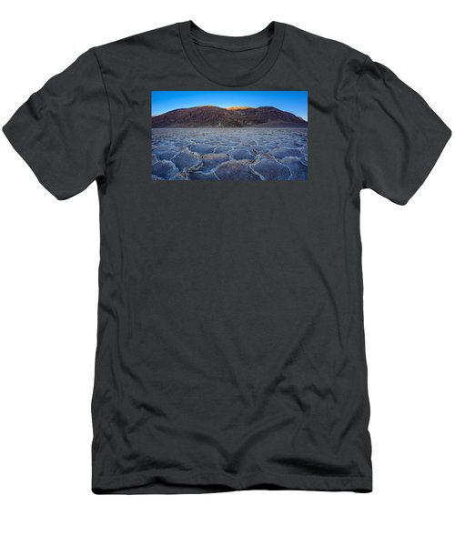 Shadows Fall Over Badwater Men's T-Shirt (Athletic Fit)
