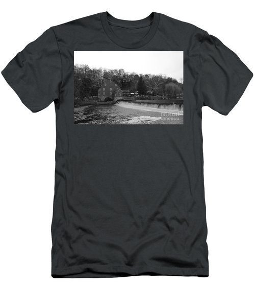 Shadows On The Mill In Clinton Men's T-Shirt (Athletic Fit)