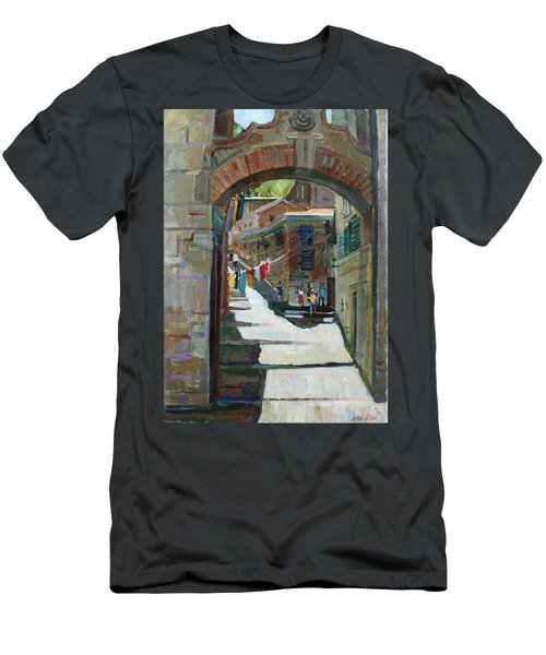 Shadows The Old Town Men's T-Shirt (Athletic Fit)