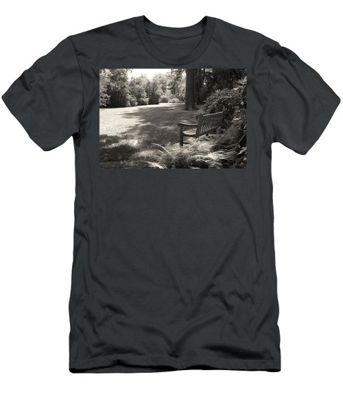 Shady Bench Men's T-Shirt (Athletic Fit)