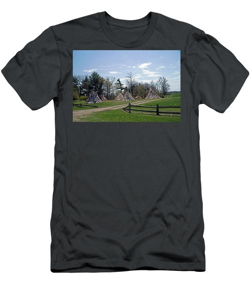 Shaker Teepees? Men's T-Shirt (Slim Fit) by Judy Johnson