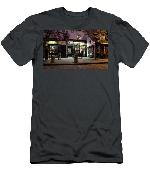Men's T-Shirt (Slim Fit) featuring the photograph Shakespeare Book Shop 1 by Andrew Fare