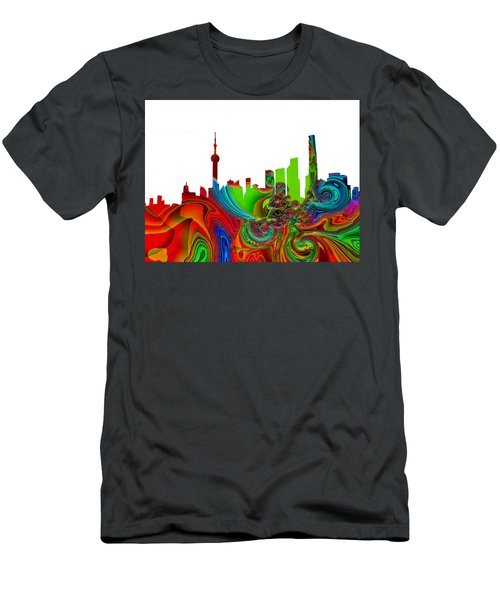 Shanghai  Men's T-Shirt (Athletic Fit)