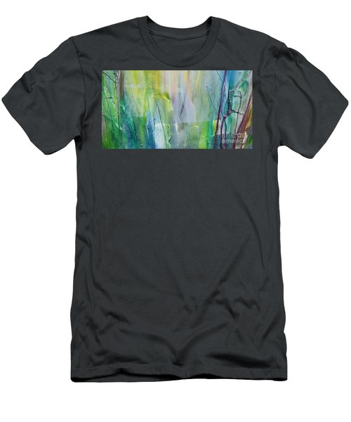 Shapes And Colors Men's T-Shirt (Slim Fit) by Dan Whittemore