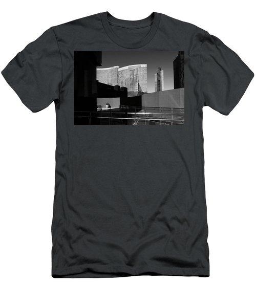 Men's T-Shirt (Slim Fit) featuring the photograph Shapes And Shadows 3720 by Ricardo J Ruiz de Porras