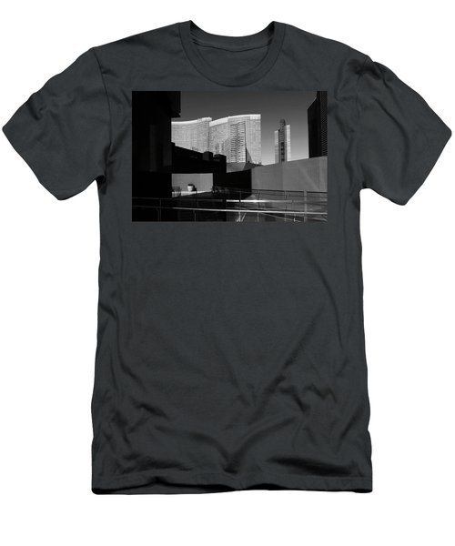 Shapes And Shadows 3720 Men's T-Shirt (Athletic Fit)