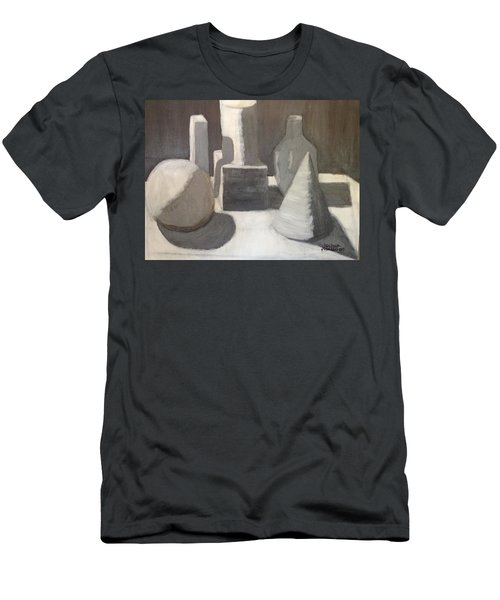 Shapes In Light And Shadow Men's T-Shirt (Slim Fit)