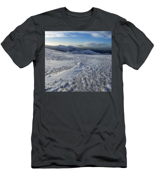 Shapes In The Ice And Far Away Men's T-Shirt (Athletic Fit)