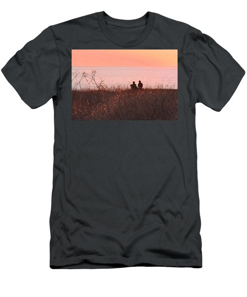 Sharing Tranquility Men's T-Shirt (Athletic Fit)