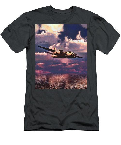 Shark On The Prowl Men's T-Shirt (Athletic Fit)