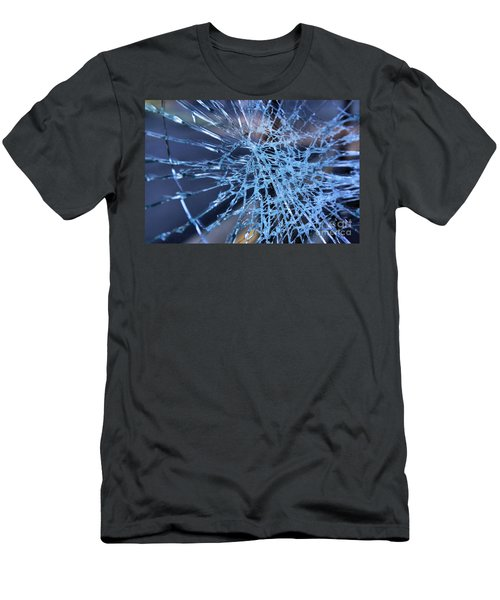 Shattered Glass In Color Men's T-Shirt (Athletic Fit)