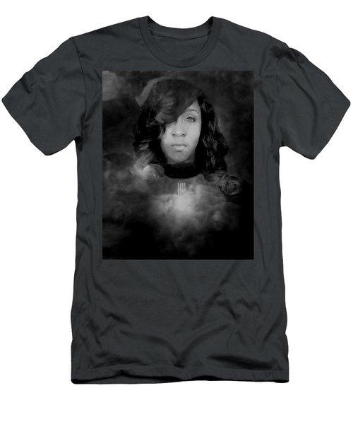 Shavon Portrait Men's T-Shirt (Athletic Fit)