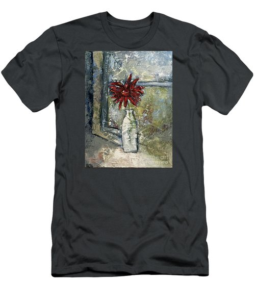 She Soaked In The Sun Men's T-Shirt (Slim Fit) by Kirsten Reed