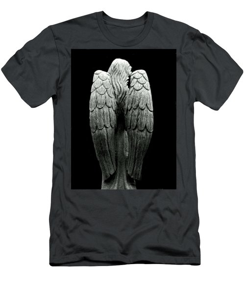 She Talks With Angels Men's T-Shirt (Athletic Fit)