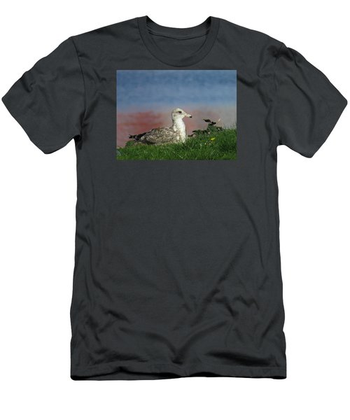 She Who Watches Men's T-Shirt (Athletic Fit)