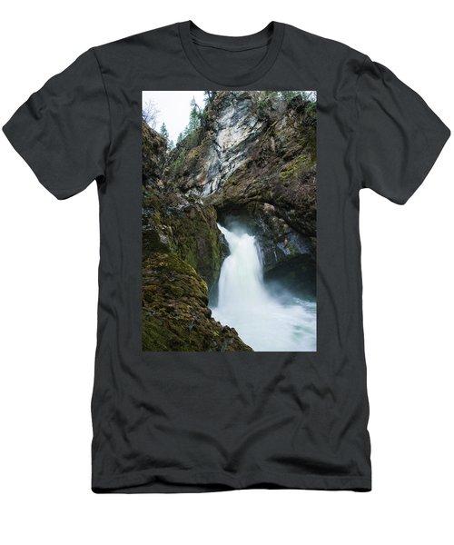 Sheep Creek Falls Men's T-Shirt (Athletic Fit)