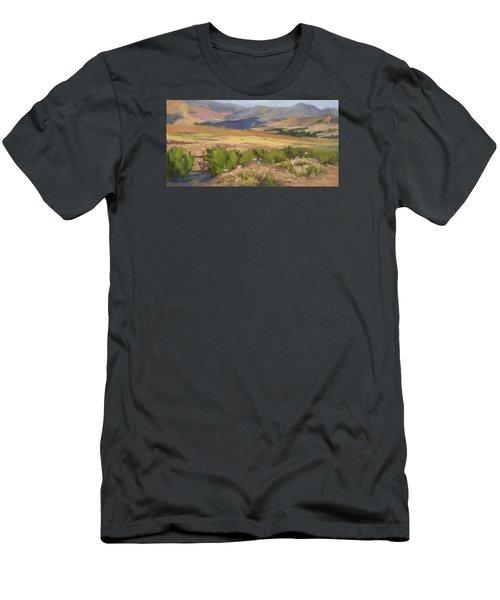 Sheep Gate Men's T-Shirt (Slim Fit) by Jane Thorpe