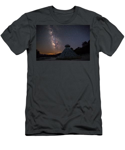 Sheepfold Under The Stars Men's T-Shirt (Athletic Fit)