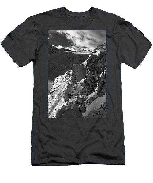 Sheer Alps Men's T-Shirt (Athletic Fit)